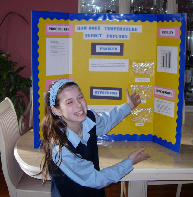 Alicia's Science Project