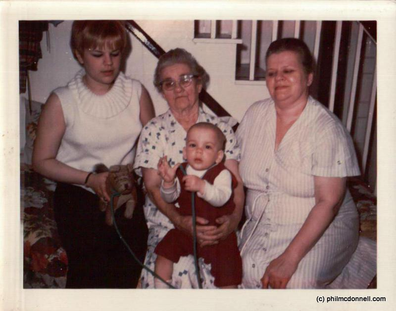 My Mom, My Great Grandma, My Grandma(Nana) & of course me.